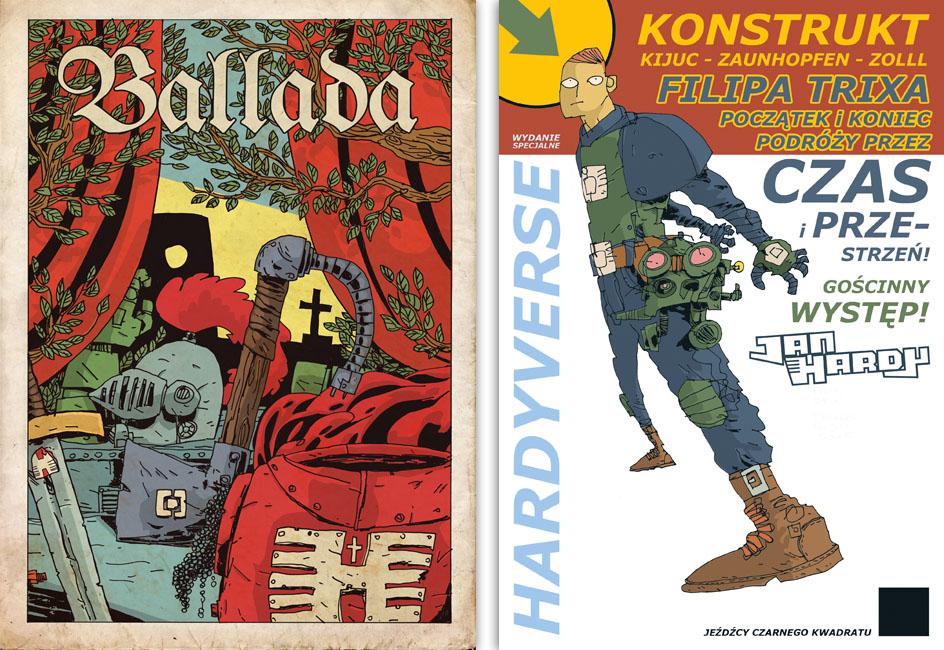 ballada, jan hardy, janek hardy, komiks, komiksy, hardyverse, konstrukt, stix, trix