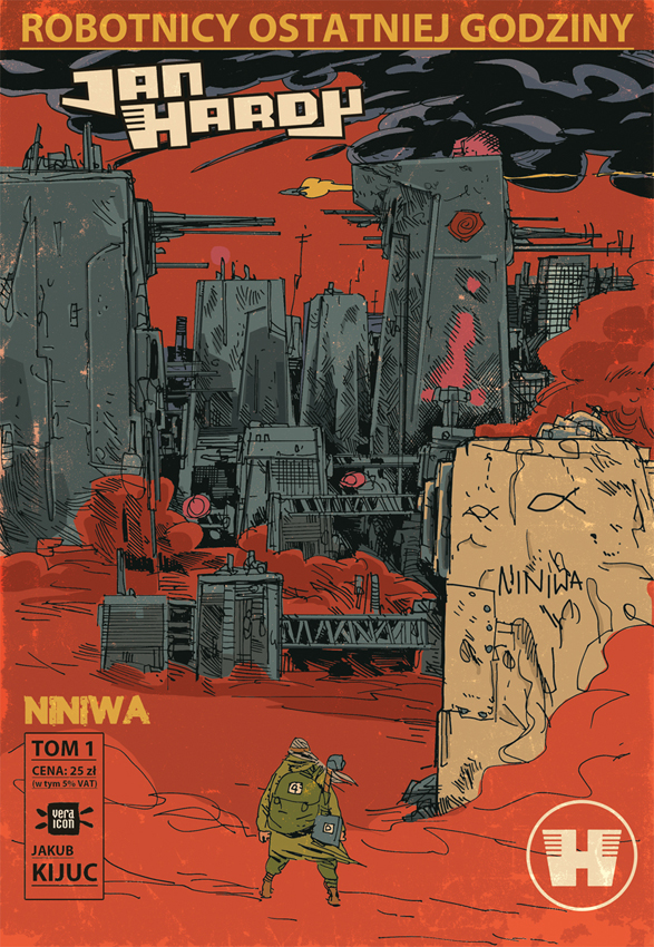jan hardy, komiks, niniwa, kijuc