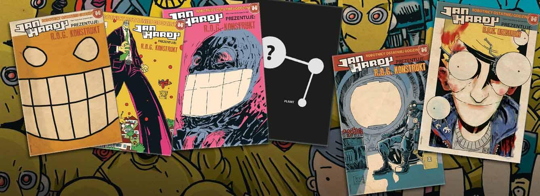 Komiksy z serii Jan Hardy Prezentuje: R.O.G. Konstrukt