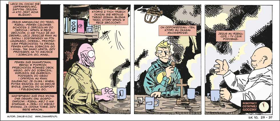 Komiks ROTA XXI #2 - fragment