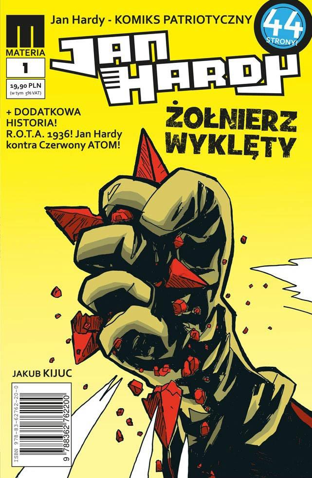 Jan Hardy - Żołnierz Wyklęty #1 (II wyd.)