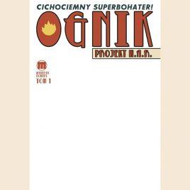 Ognik, Tom 1 – Superbohater Cichociemny Blank Cover