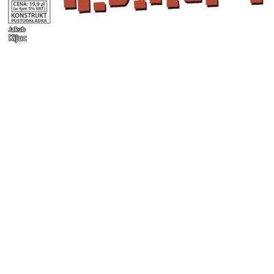 Konstrukt 4 ASIZO pustookładka Komiksy Na Maxa