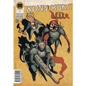 Komiks Konstrukt 3, Hubert Czajkowski