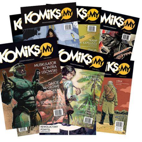 Komiks i My 9, komiksy, zajaczkowski, komiks i my
