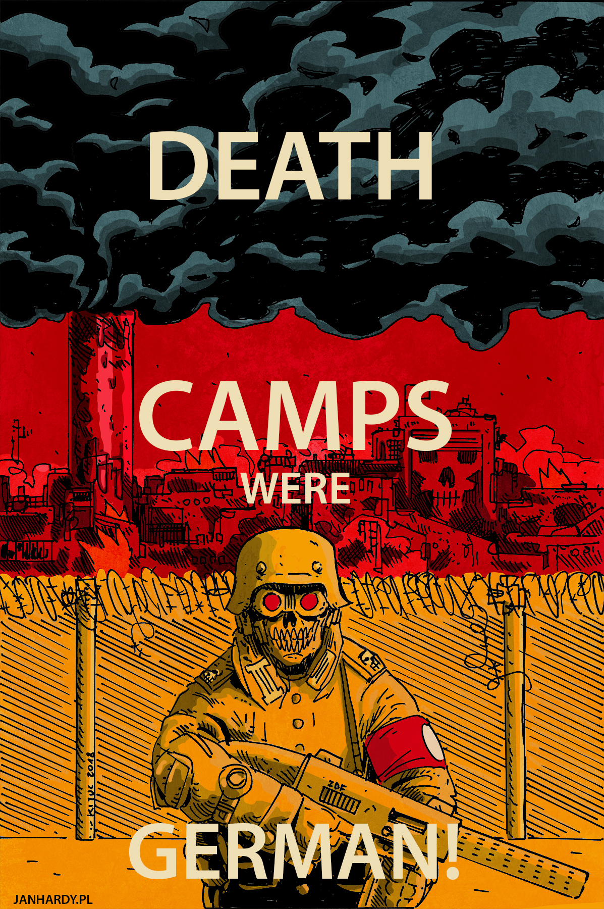 Death Camps Were German