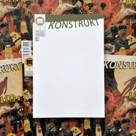 Konstrukt 3 pustookładka blank cover