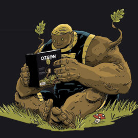 dab bartek, jan hardy, komiksy, asizo, materia komiks, kijuc, ozeon, ekologia