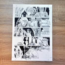 Oryginalna plansza Jan Hardy - Żołnierz Wyklęty 2