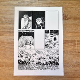 Oryginalna plansza z komiksu Lirnik
