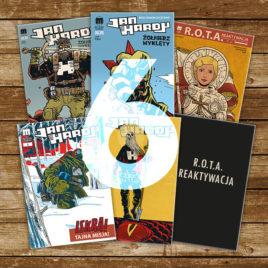 Jan Hardy i ROTA – Żołnierze Wyklęci superbohaterowie! Prenumerata półroczna 2019 / 6 numerów