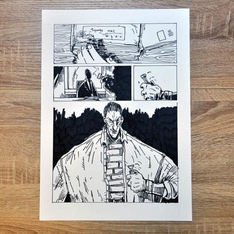 Oryginalna plansza Jan Hardy - Żołnierz Wyklęty 1