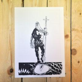 Okładka komiksu Jan Hardy - Żołnierz Wyklęty 4