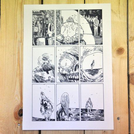 Plansza z komiksu Jan Hardy - Żołnierz Wyklęty 4
