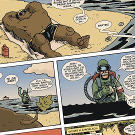 bartek, zielone ludziki, dab ,komiks, kijuc, jan hardy, rota, materia komiks, ozeon, jan hardy