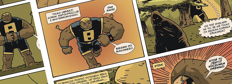 dab bartek, komiks, jan hardy, komiksy, asizo, materia komiks, ozeon, ekologia