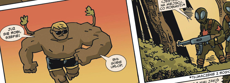 dab bartek, komiks, zielone ludziki, jan hardy