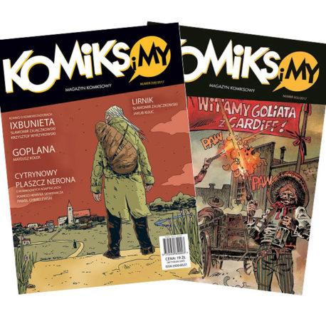 "Komiks i My z komiksem ""Lirnik"""