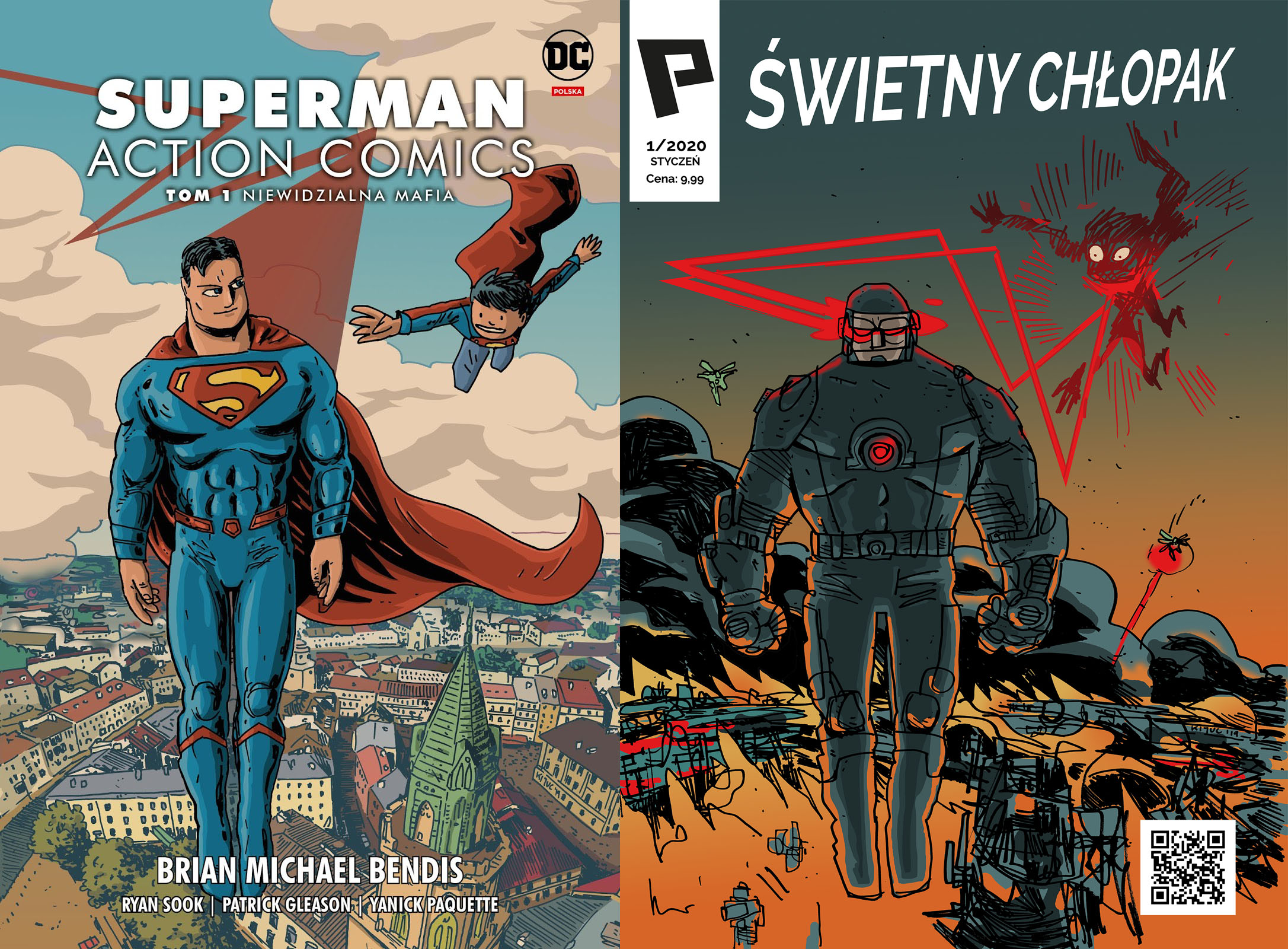 darkholc, komiks, kijuc, superman, zagrano, super