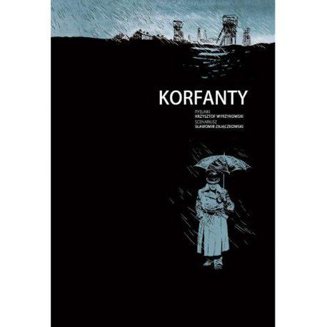 korfanty, komiks, strona